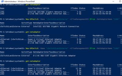 Configurer le réseau via le Gestionnaire de Commutateurs Virtuels d'Hyper-V pour Windows 10