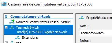 Commutateur virtuel en équipe